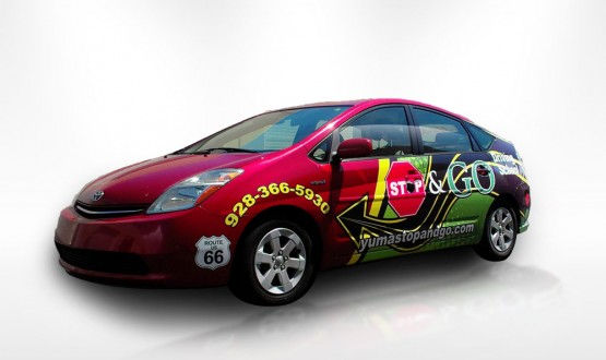 Stop & Go 3/4 Vehicle Wrap